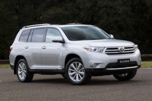 Toyota Kluger Import from Australia