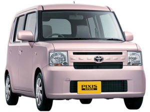 Toyota Pixis Import from Japan