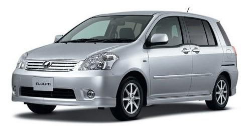 Toyota Raum Price