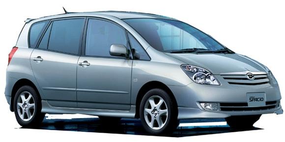 Toyota Spacio Price