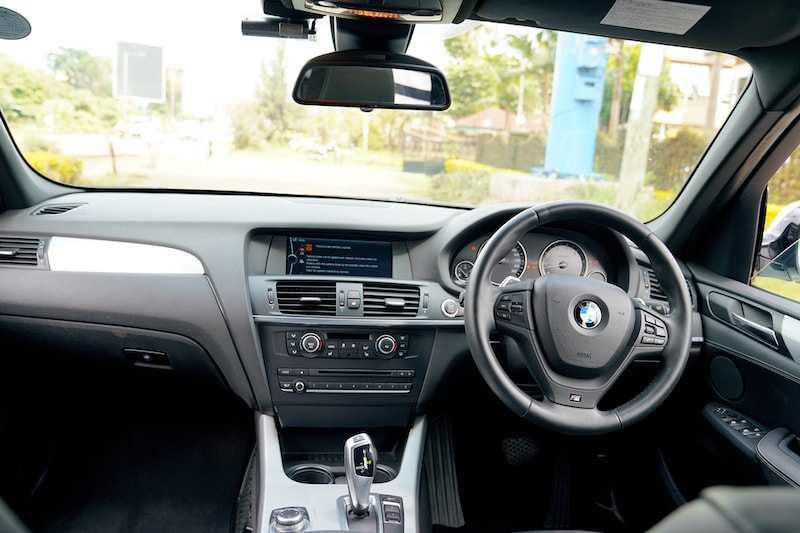 2013 BMW X3 Dashboard