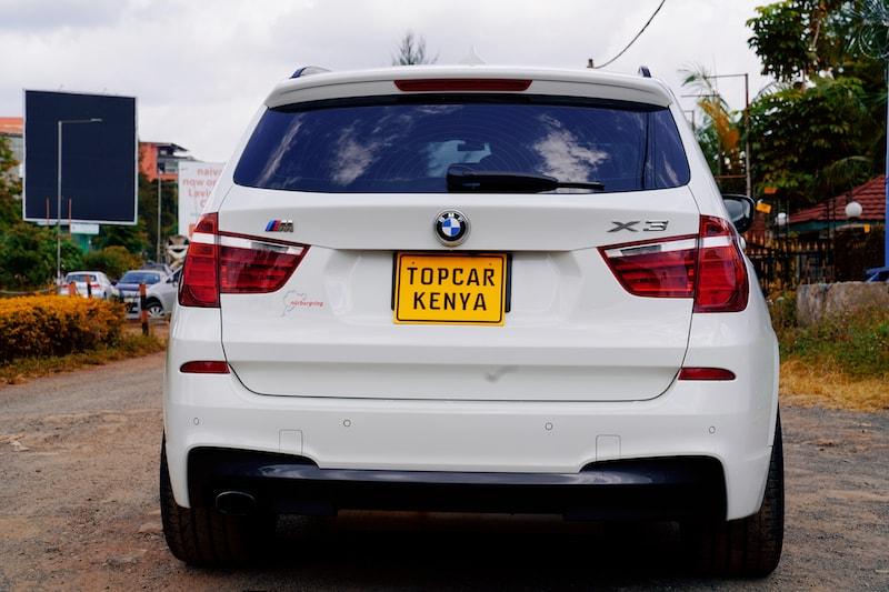 2013 BMW X3 M Sport Dual Exhaust