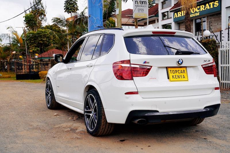 2013 BMW X3 M Sport Rear