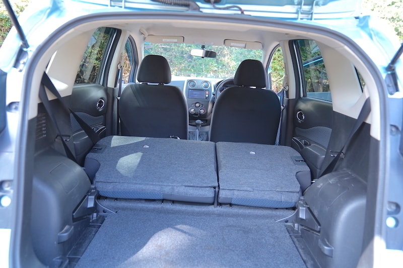 Nissan Note Full Boot