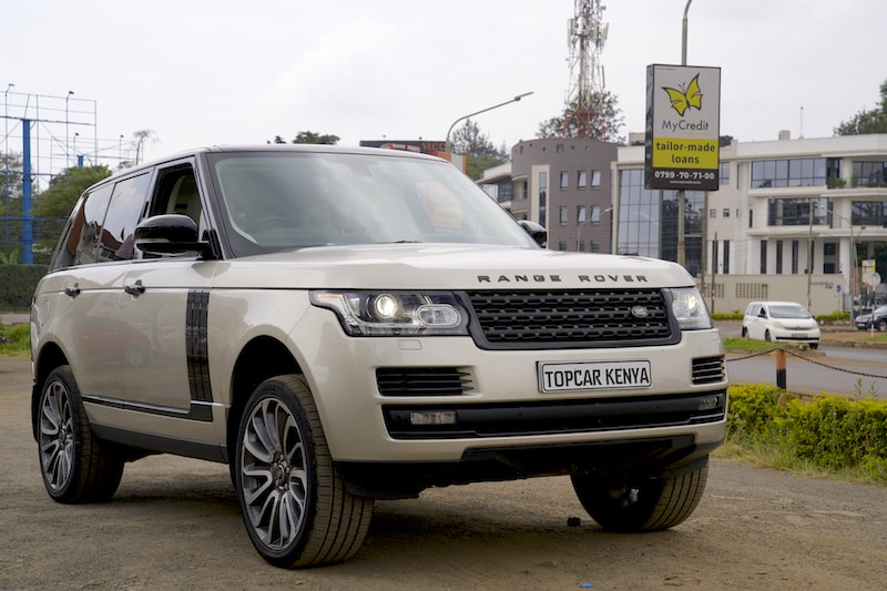 2014 Range Rover Vogue Kenya