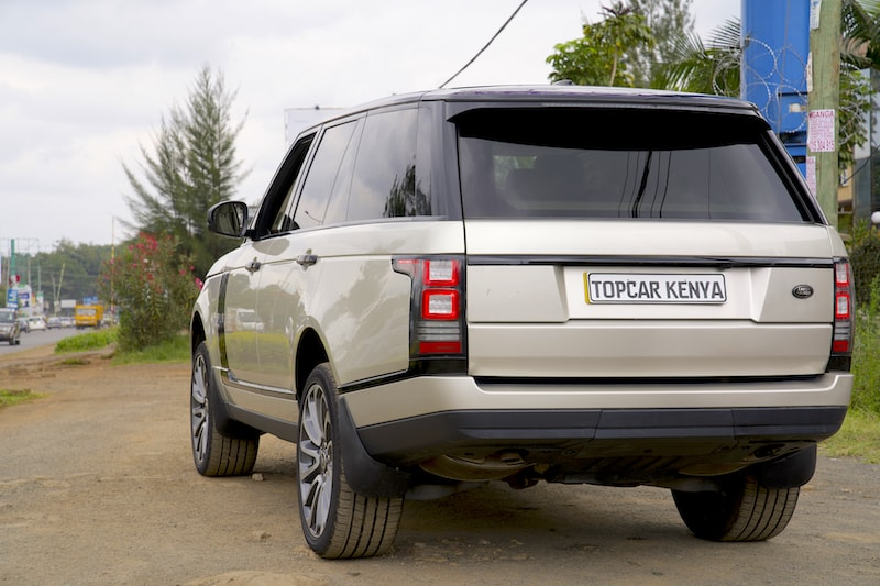 2014 Range Rover Vogue Rear