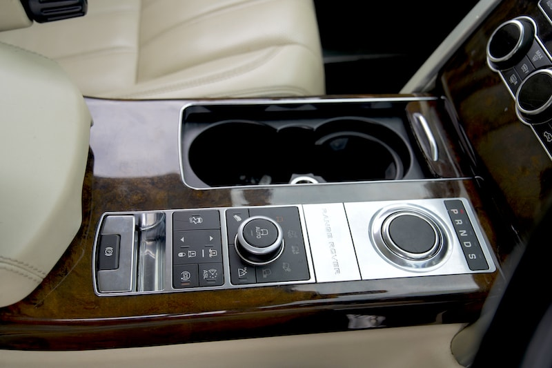2014 Range Rover Vogue Cupholders