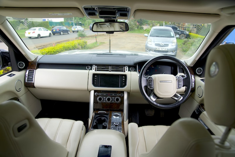 2013 Range Rover Vogue Dashboard