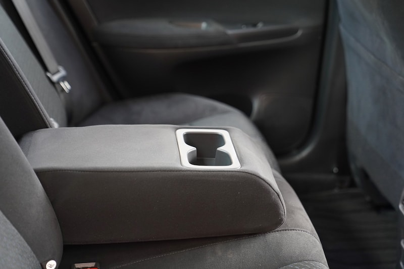 2013 Nissan Sylphy Cupholders