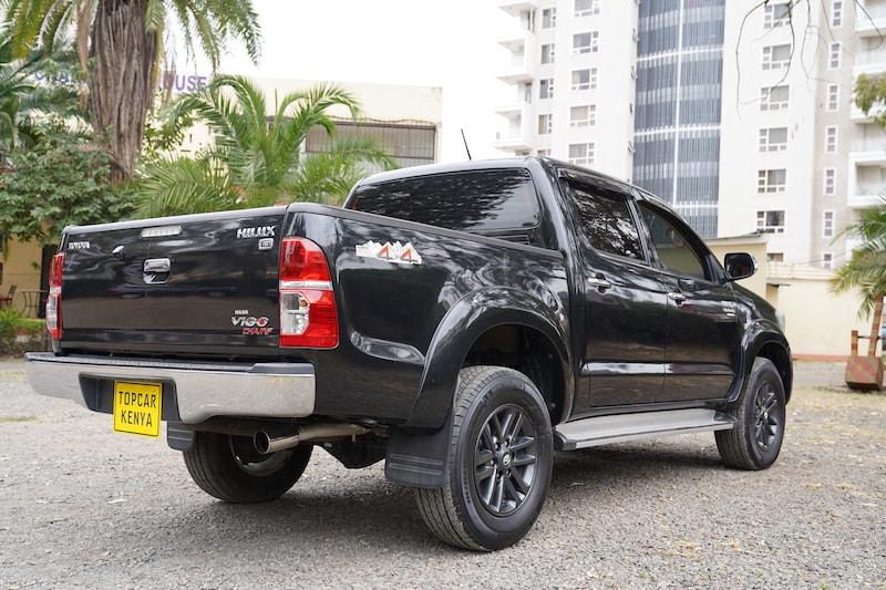 2013 Toyota Hilux Rear