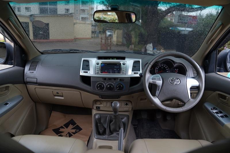 2013 Toyota Hilux Dashboard