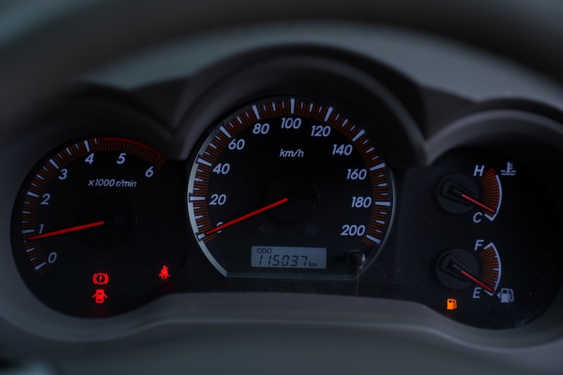 2013 Toyota Hilux Speedometer