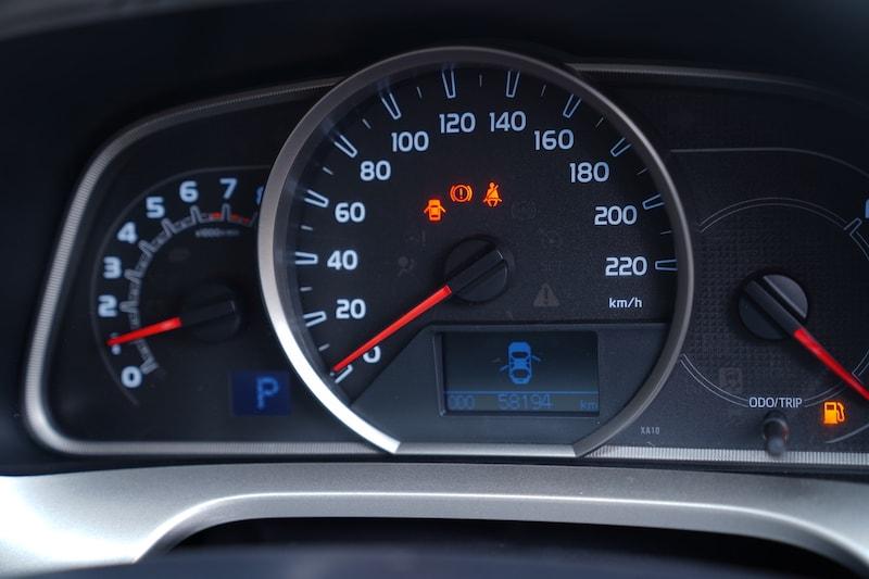 2013 Toyota RAV4 Speedometer
