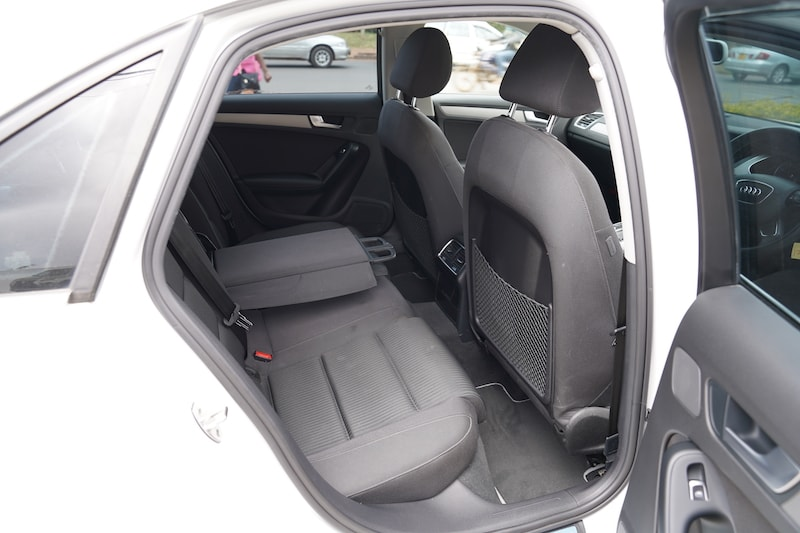 2014 Audi A4 second row legroom