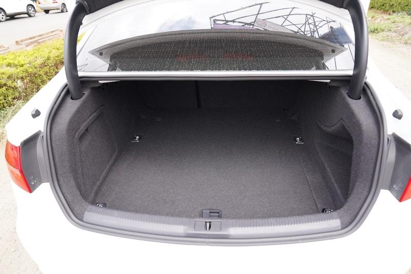 2014 Audi A4 Boot