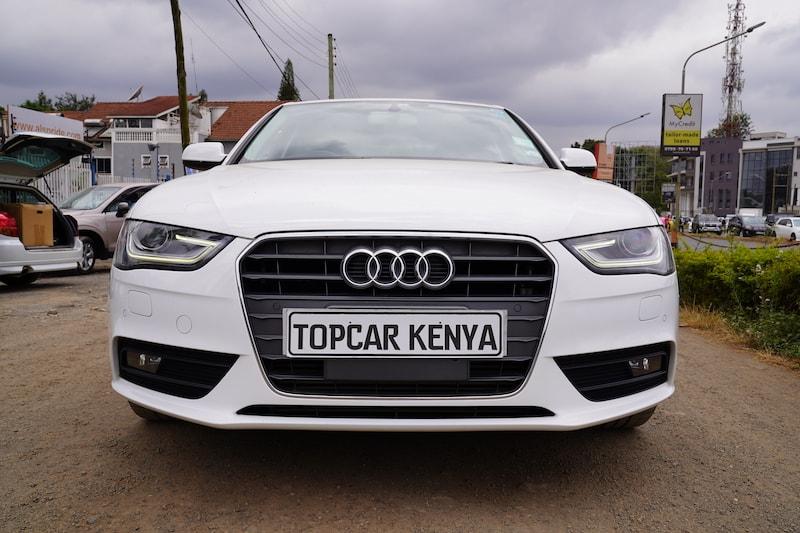 2014 Audi A4 Topcar Kenya