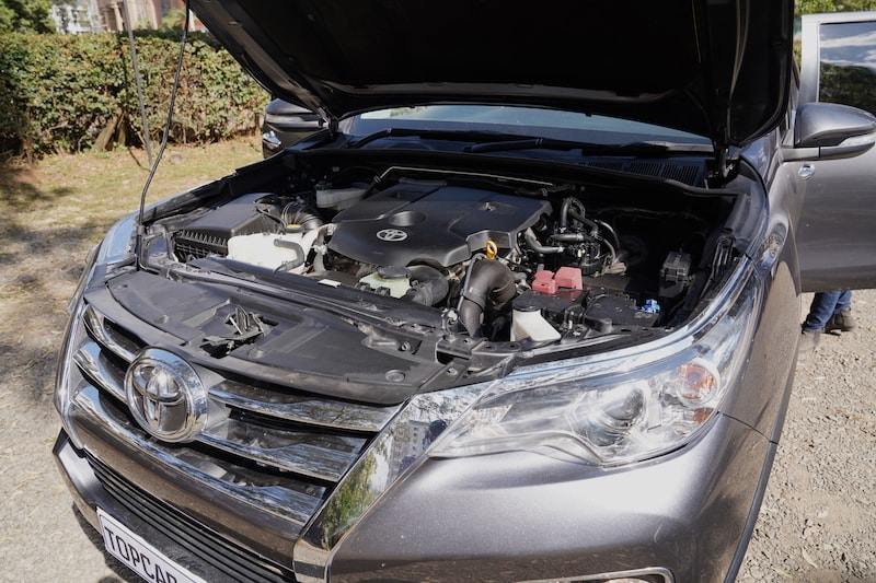 2016 Toyota Fortuner 2.8L diesel engine