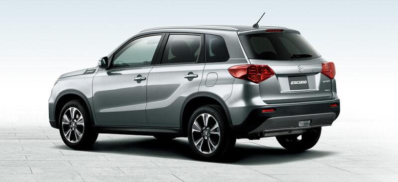 2020 Suzuki Escudo Rear View