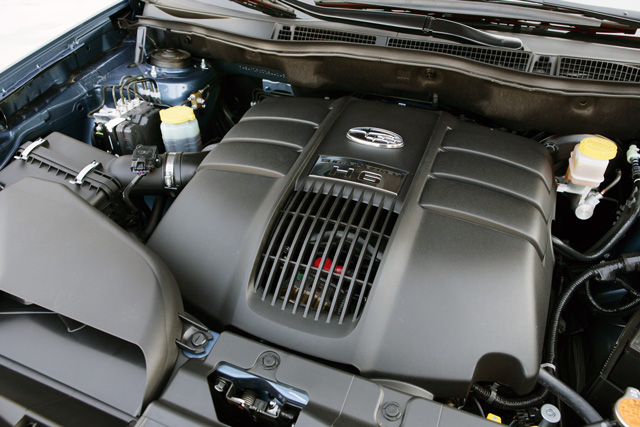 Subaru Tribeca H6 Engine