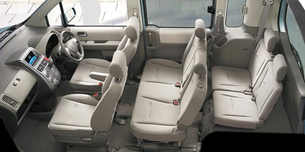 2008 Honda Mobilio Interior