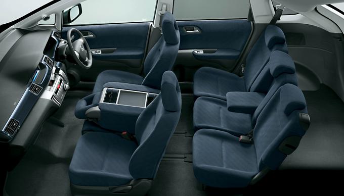Honda Edix Interior Space