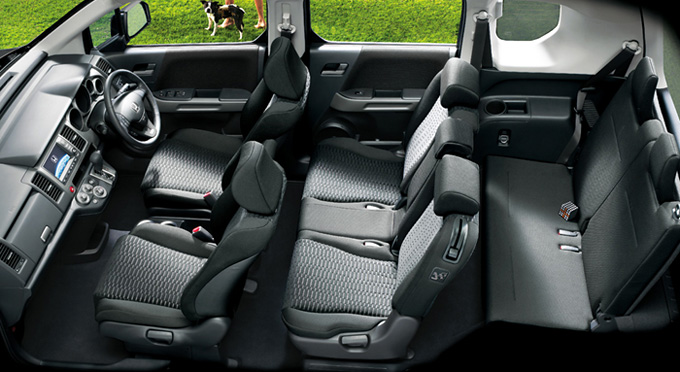 2010 Honda Crossroad Interior Space