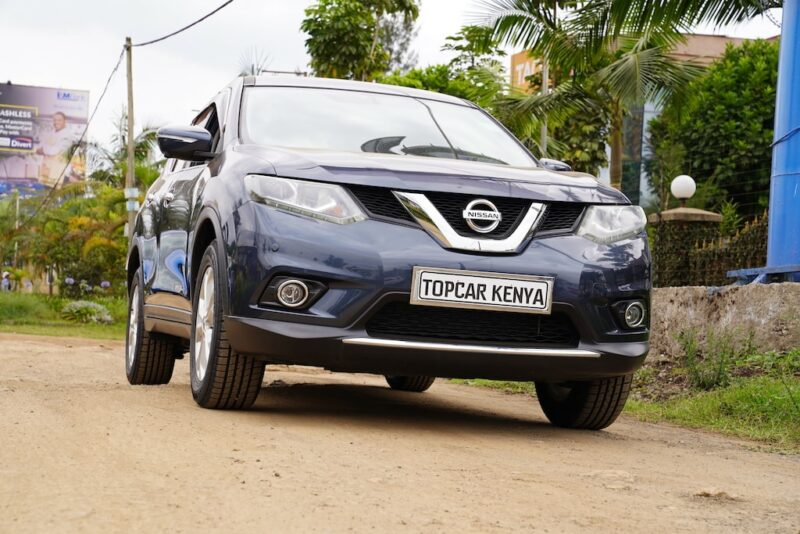 2014 Nissan X-Trail Ground Clearance