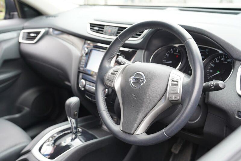 2014 Nissan X-Trail Dashboard