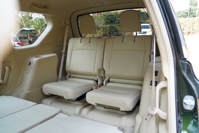 2014 Toyota Prado third row seats