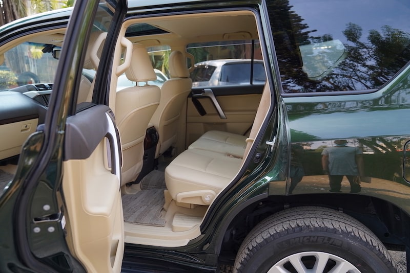 2014 Toyota Prado Second Row Seats