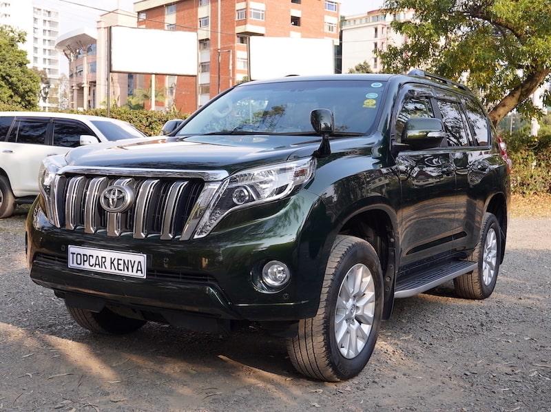 2014 Toyota Prado TZG Kenya