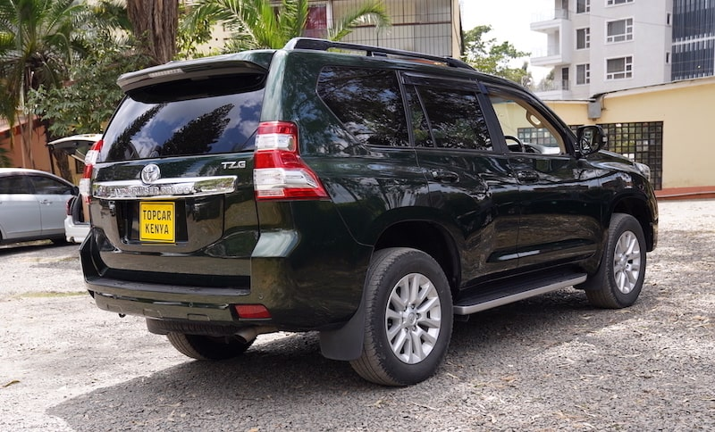 2014 Toyota Prado TZG with KDSS