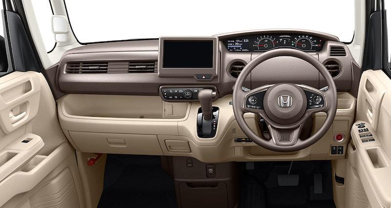 Honda N-BOX Dashboard