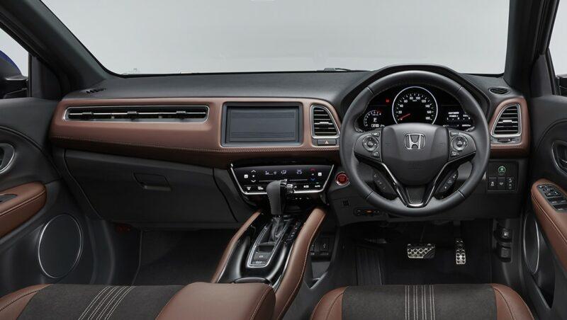 2020 Honda Vezel Dashboard