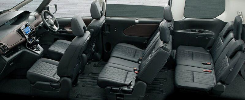 2020 Suzuki Landy Interior