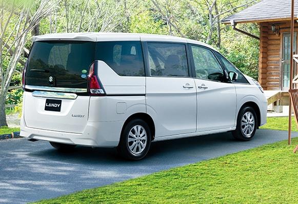 2020 Suzuki Landy Rear