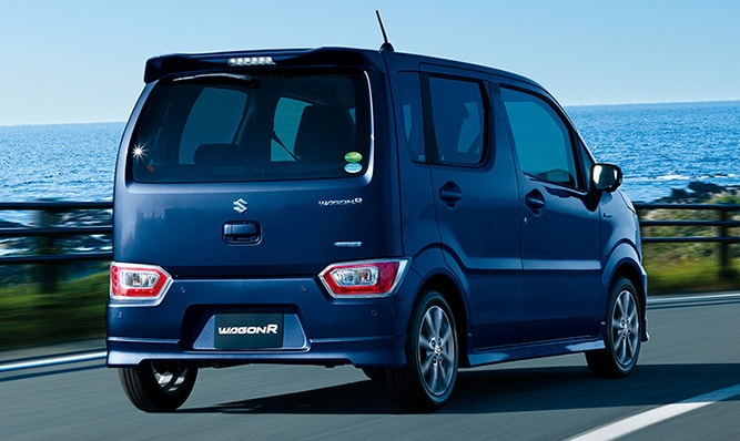 Suzuki Wagon R Rear Look