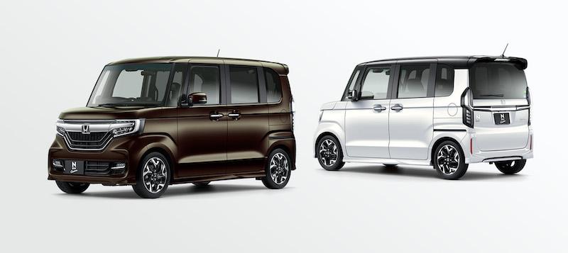 Honda N-BOX exterior styling