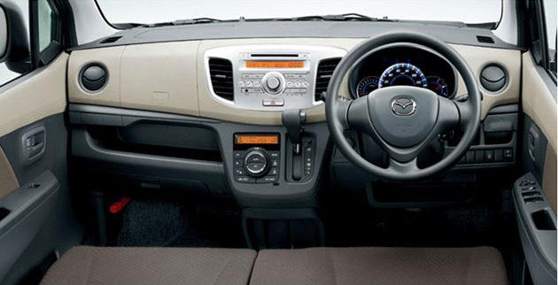 Mazda AZ dashboard