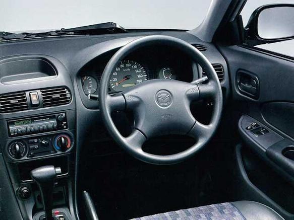 Mazda Familia Dashboard