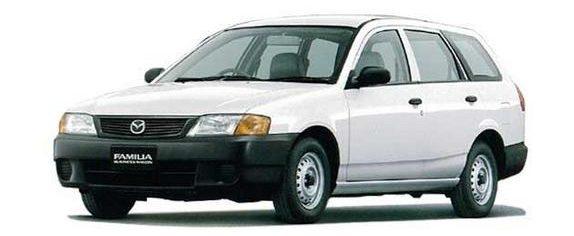 Mazda Familia in Kenya