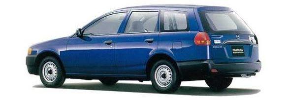 Mazda Familia Rear