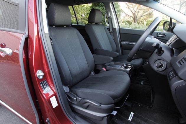 Mazda MPV First Row