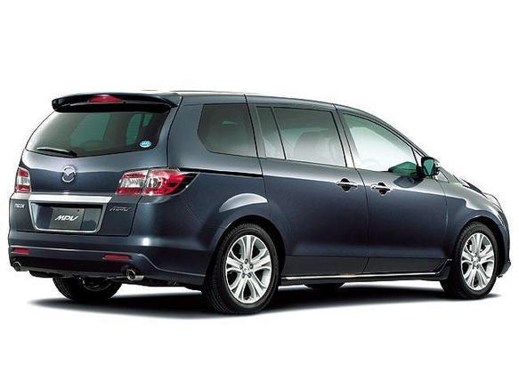 Mazda MPV rear Look