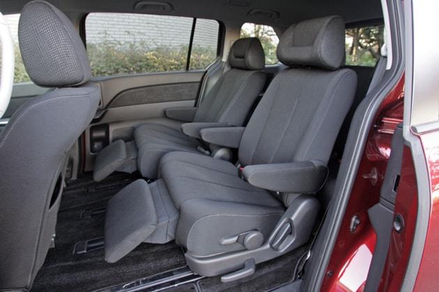 Mazda MPV Second Row