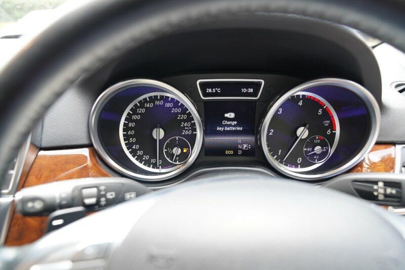 Mclass speedometer
