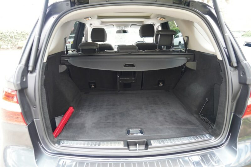 M-Class Boot space