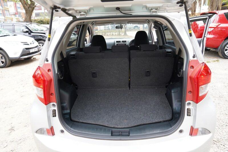 2014 Subaru Trezia Boot