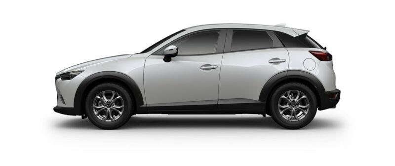 Mazda CX3 acceleration