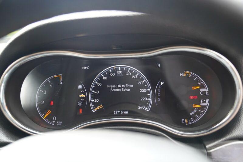 2014 Grand Cherokee Speedometer